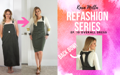 Refashion Series Ep. 10 The Overall Dress