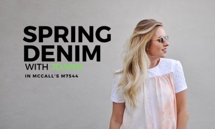 Spring Denim with JOANN and McCall's M7544