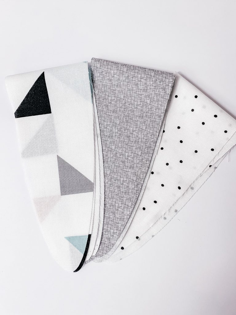 Easy cricut maker headbands using the new Mint Cricut Maker. It's so cool that it can cut your pattern pieces for you!