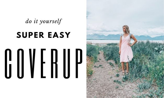 DIY Beach Coverup in less than an hour