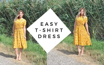 DIY Dress Tutorial // Sew a Dress without a Pattern