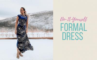 DIY Formal Dress