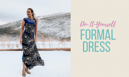 DIY Formal Dress
