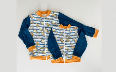 Ollie Bomber Jacket // A great jacket for beginning sewists