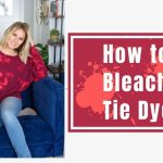 How to Reverse Tie-Dye with Bleach
